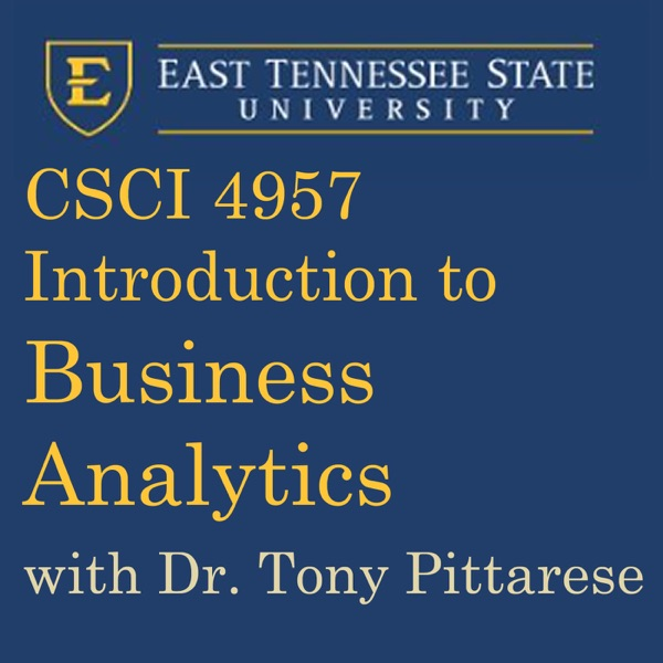 Introduction to Business Analytics (Spring 2015)