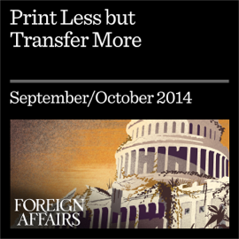 Print Less but Transfer More: Why Central Banks Should Give Money Directly to the People (Unabridged) audiobook