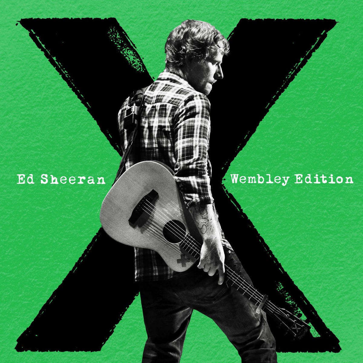 x Wembley Edition Ed Sheeran CD cover