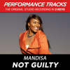 Not Guilty (Performance Tracks) - EP - Mandisa