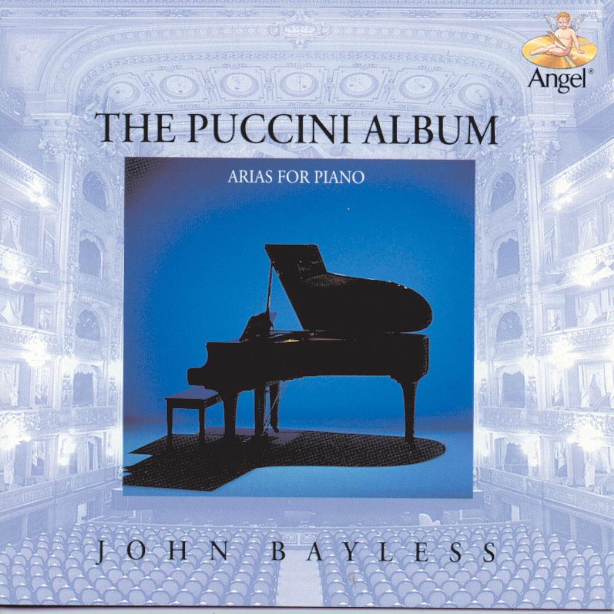 The Puccini Album: Arias for Piano Album Cover by John Bayless