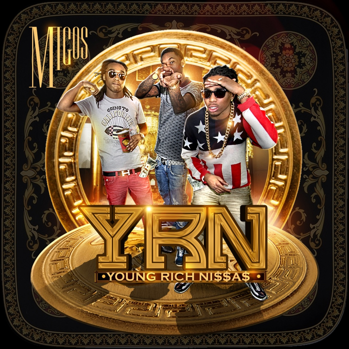 Young Rich Nggas Migos CD cover