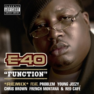 E-40 - Function (Remix) [feat. Probelm, Young Jeezy, Chris Brown, French Montana & Red Café]