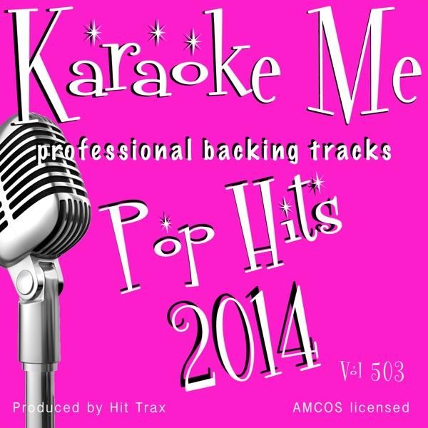 Backing Tracks Hits of 2014 Vol 503 (Backing Tracks)