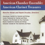 American Chamber Ensemble - Quintet for Clarinet and Strings