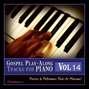 Now Behold the Lamb (Bb) [Originally Performed by Kirk Franklin] [Piano Play-Along Track] - Fruition Music Inc.