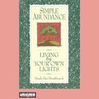 Sarah Ban Breathnach - Simple Abundance: Living by Your Own Lights artwork