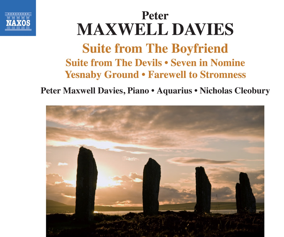 "Peter Maxwell Davies: Suite from ""The Boyfriend"", Suite from ""The Devils"" & Other Works"