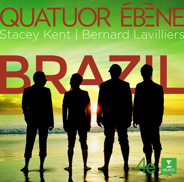 Stacey Kent And Quatuor Ebene - I Can't Help It