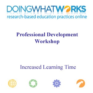 Increased Learning Time Beyond the Regular School Day