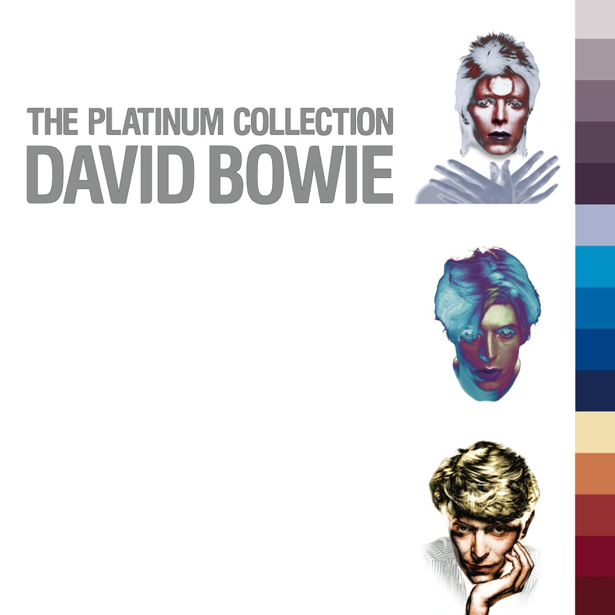 The Platinum Collection David Bowie CD cover