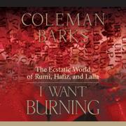 I Want Burning: The Ecstatic World of Rumi, Hafiz, and Lalla