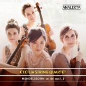 Felix Mendelssohn;Cecilia String Quartet - String Quartet in E Minor, Op. 44, No. 2