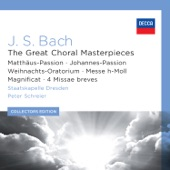 "Peter Schreier - J.S. Bach: St. Matthew Passion, BWV 244 / Part Two - No.39 Aria (Alto): ""Erbarme dich"""