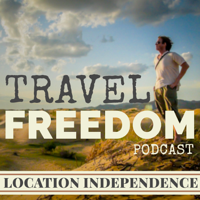 Podcast cover art for Travel Freedom Podcast (Location Independent Income & Travel)