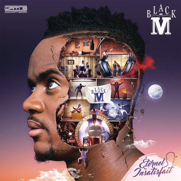 black m eternel insatisfait reedition