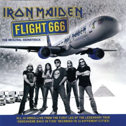 Flight 666: The Original Soundtrack (Live) - Iron Maiden Album Cover