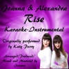 Rise (Karaoke Instrumental Version) - Single - Joanna and Alexandra