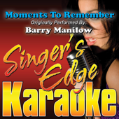 Moments To Remember (Originally Performed By Barry Manilow) [Instrumental]