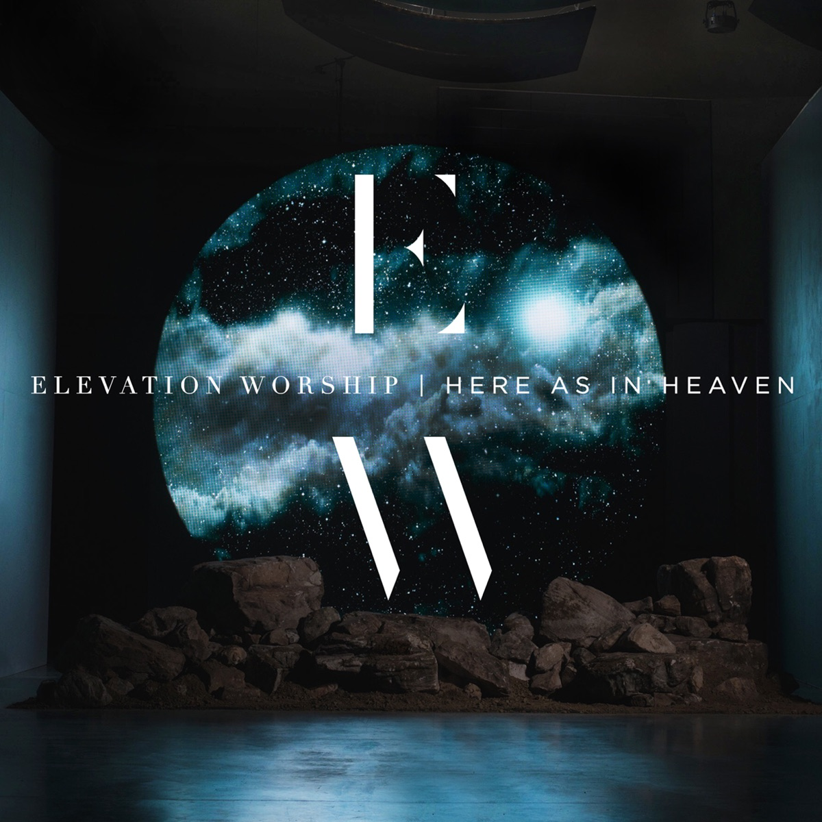 Here as in Heaven Live Elevation Worship CD cover