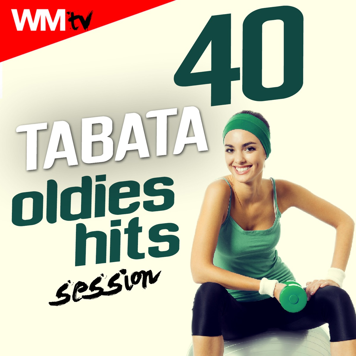 40 tabata oldies hits session album coverworkout music tv