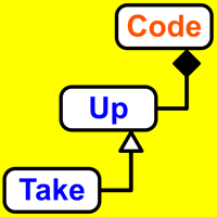 Podcast cover art for Take Up Code