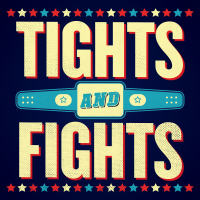 Podcast cover art for Tights and Fights
