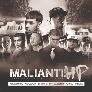 Maliante HP (Remix) [feat. Anuel Aa, Farruko, Almighty, Darkiel, Bryant Myers, Nio Garcia & Noriel] - Single Mp3 Download