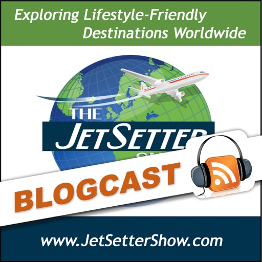 Cover image of The JetSetter Show Blogcast