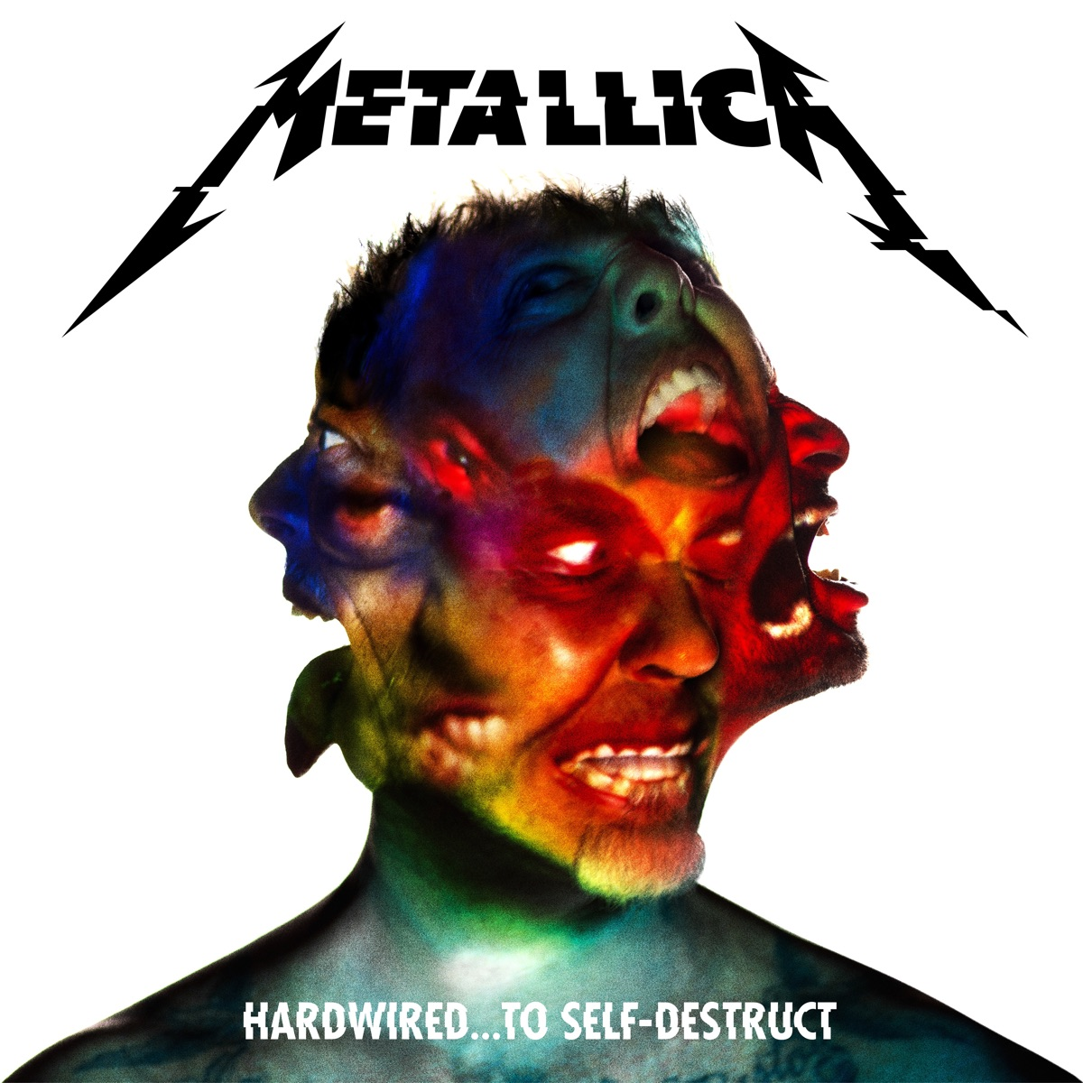 Hardwired To Self Destruct Album Cover By Metallica
