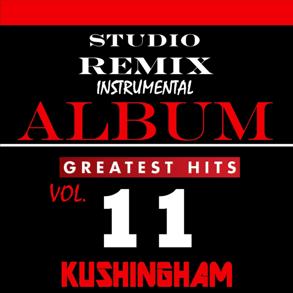 Studio Remix Instrumental Album: Greatest Hits, Vol  11 by Kushingham  Productions
