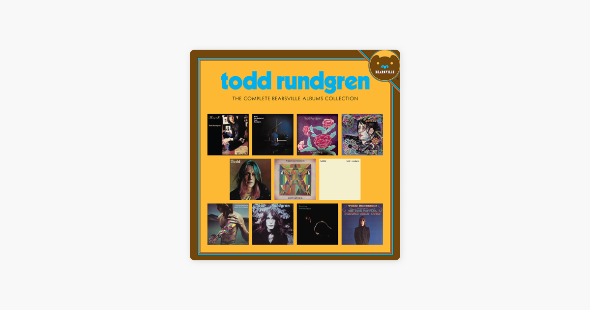 The Complete Bearsville Albums Collection by Todd Rundgren