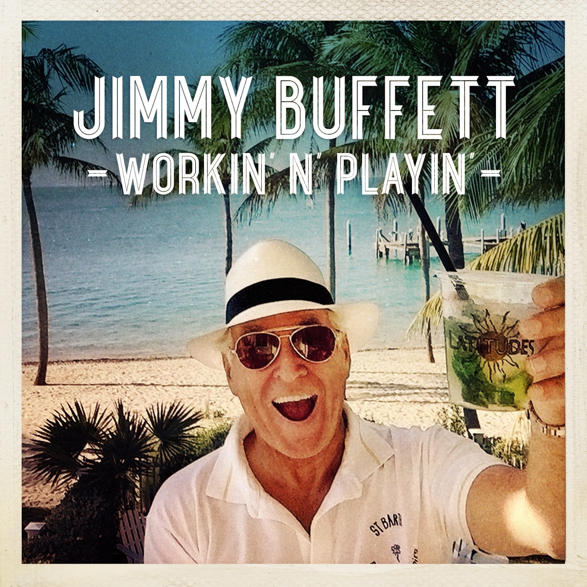 Workin\' \'N\' Playin\' - Single Album Cover by Jimmy Buffett