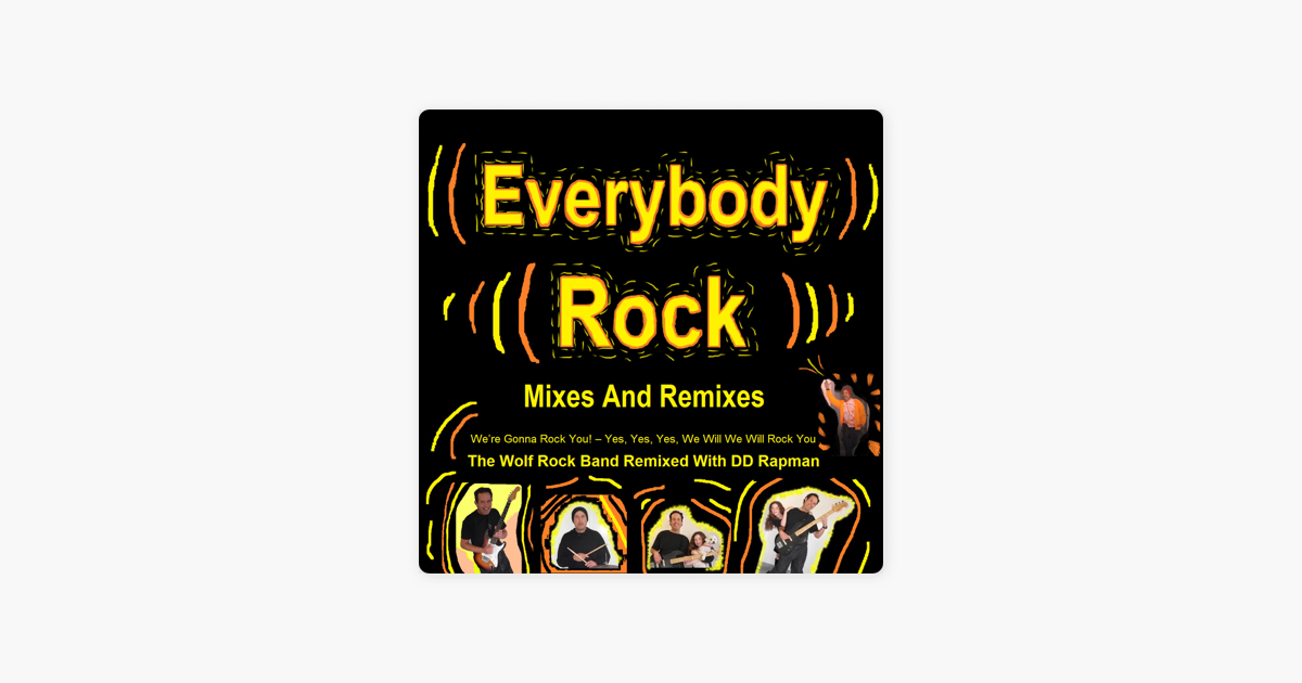 bb1317a79b2  Everybody Rock Remixes – We re Gonna Rock You! Yes