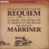 Academy of St. Martin in the Fields & Sir Neville Marriner - Mozart: Requiem  artwork