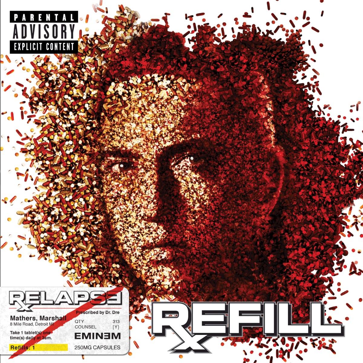 Relapse Refill Eminem CD cover