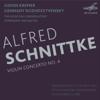 Moscow Conservatory Symphony Orchestra, Gennady Rozhdestvensky & Gidon Kremer - Schnittke: Violin Concerto No. 4 (Live) - EP kunstwerk