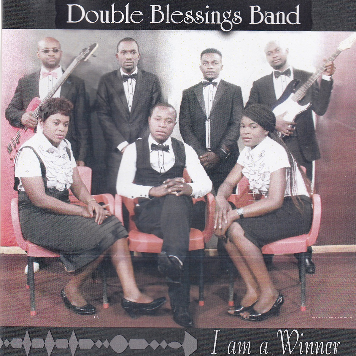 I Am a Winner - EP Double Blessings Band CD cover