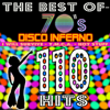 Various Artists - The best of 70's - 110 Hits: Disco Inferno, Y.M.C.A., I Will Survive, Hot Stuff artwork