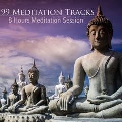 99 Meditation Tracks - 8 Hours Meditation Session for Mindfulness, Yoga, Sleep, Relaxation and Study