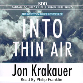 Into Thin Air (Unabridged) audiobook