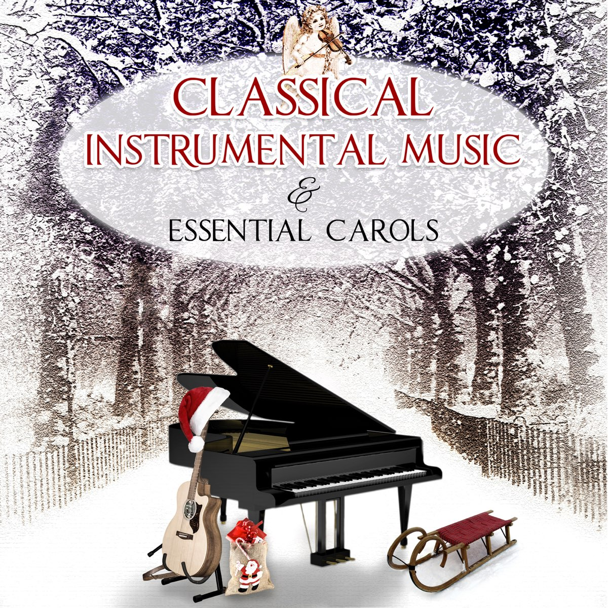 Traditional Christmas Carols Ensemble Classical Instrumental Music Essential Carols The Best Magic Songs For Family Christmas Eve And Other Stories By Traditional Christmas Carols Ensemble Album Artwork Cover My Tunes