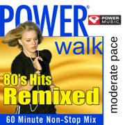 Power Cardio - 80's Hits Remixed (60 Minute Non-Stop Workout Mix) - Power Music Workout - Power Music Workout