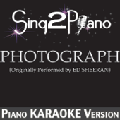 Photograph (Originally Performed by Ed Sheeran) [Piano Karaoke Version]