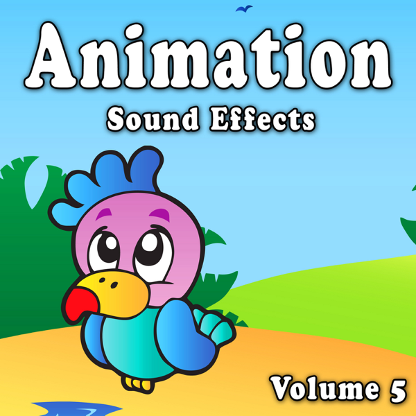 animation sound effects vol 5 by the hollywood edge sound effects