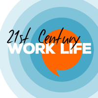 Podcast cover art for 21st Century Work Life - remote working, virtual teams and flexible working