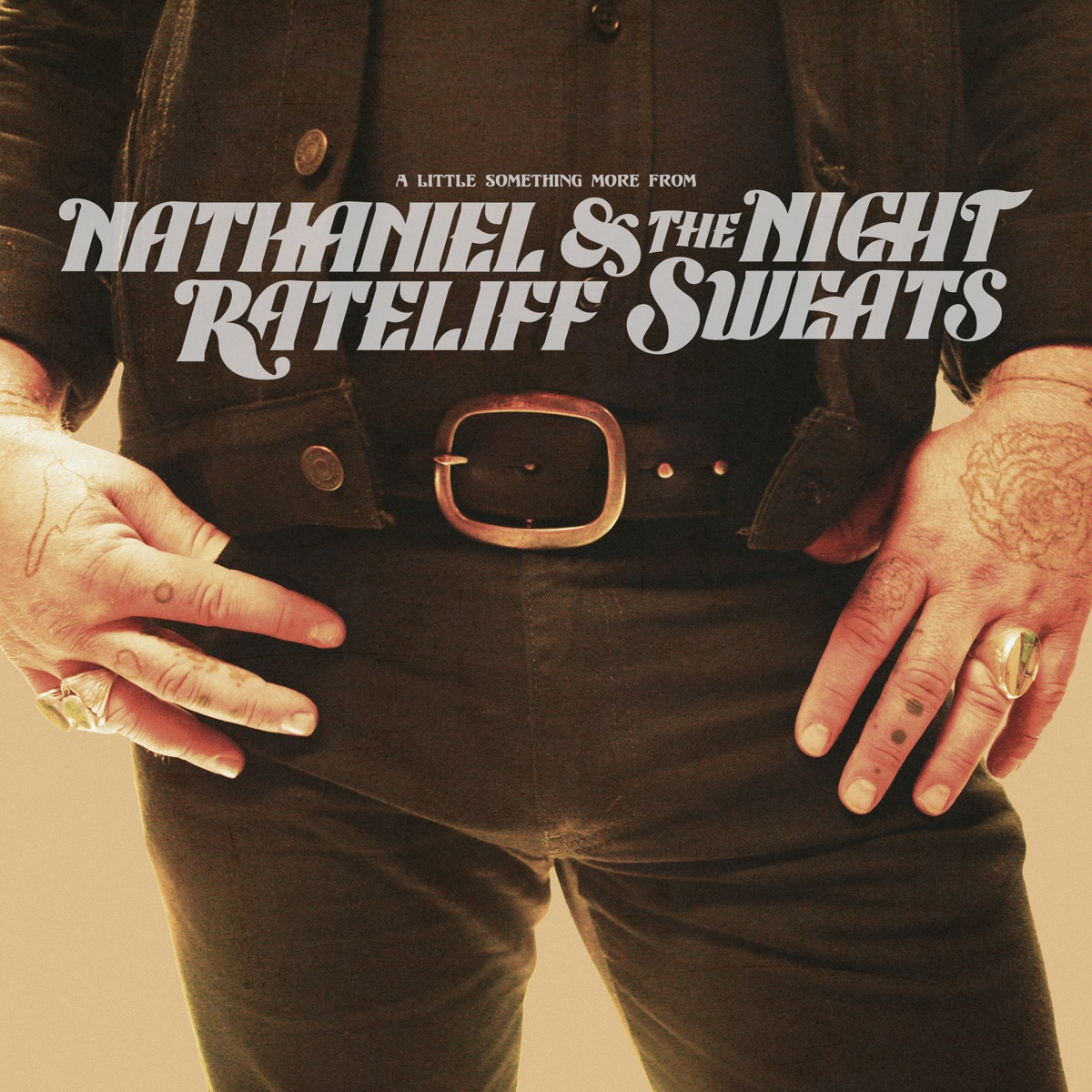 A Little Something More From Nathaniel Rateliff  The Night Sweats CD cover