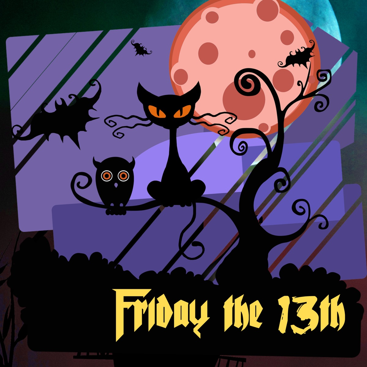 Friday the 13th - Horror Music for Halloween Party, Dark