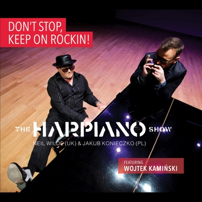 Don't Stop, Keep on Rockin! - The Harpiano Show album