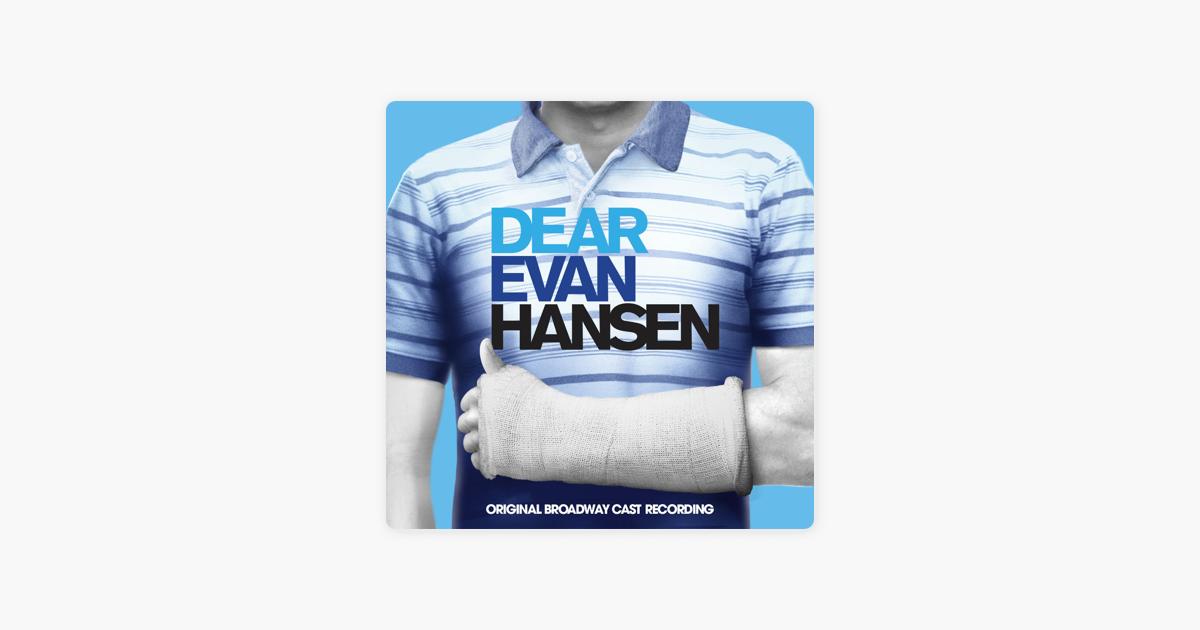 You Will Be Found - Ben Platt, Kristolyn Lloyd, Will Roland, Laura Dreyfuss & Original Broadway Cast of Dear Evan Hansen